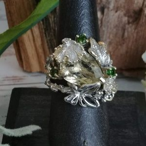 Jewelry - Artisan Lemon Citrine Ring
